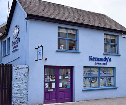About Kennedys Opticians in Kinsale Co. Cork