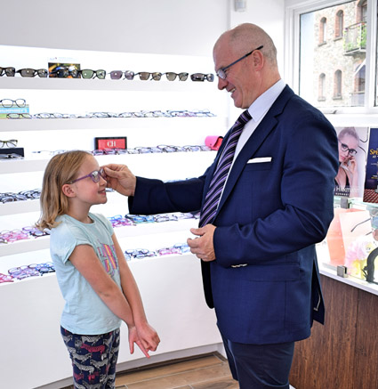 Children's Eye Care at Kennedys Opticians
